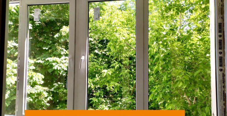 Монтаж ПВХ окна на балконе в Раменском, фото