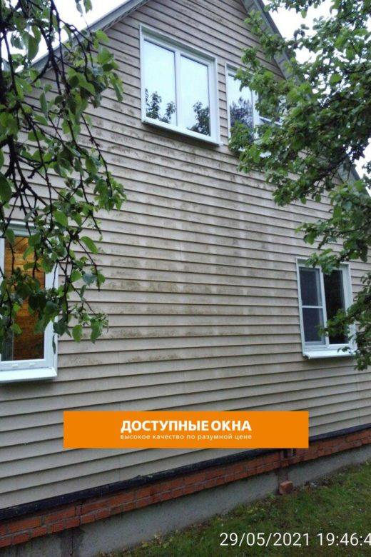 Объект №28. Монтаж ПВХ окон в доме под ключ в Григорово, фото портфолио